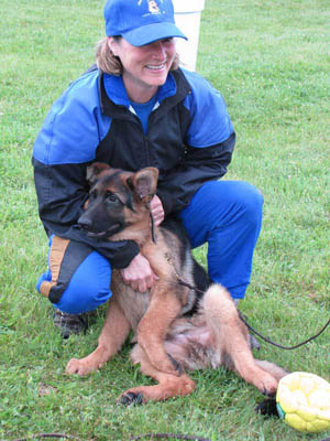 german shepherd breeder tracy bullinger